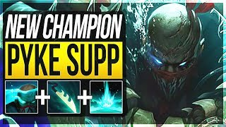 PYKE NEW ASSASSIN SUPPORT!! Pyke Gameplay Support New Champion - League of Legends