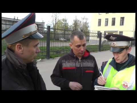 Пьяный водитель Фольксвагена полковник нацгвардии Баев. Место происшествия 11.05.2016