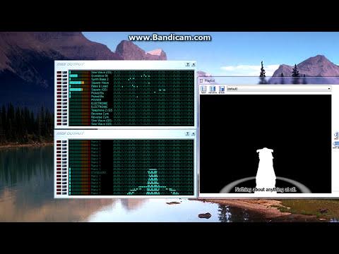 [Black MIDI Animation] Bad Apple!! Music Video as a MIDI - vanBasco's Karaoke Player ~ ZUMN Zheng