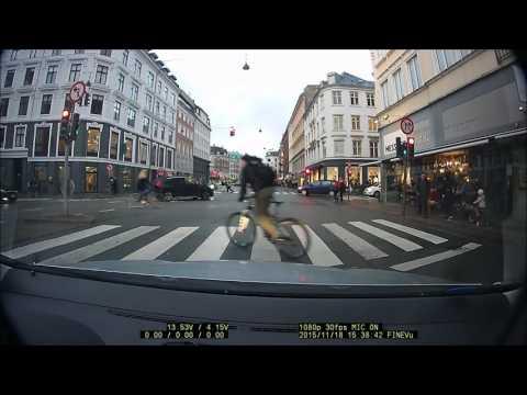 Dashcam Denmark   Mr  Running red light is a sport