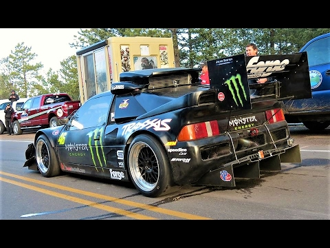 920Hp Monster Ford RS200 Evo // Pikes Peak Attack