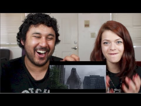 5 GODZILLA MOVIE CLIPS REACTION!!!