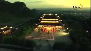Toàn cảnh ngôi chùa lớn nhất Đông Nam Á ( chùa Bái Đính- Ninh Bình)