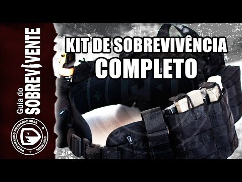 Kit de sobrevivência no cinto FENRIR- Survival kit.