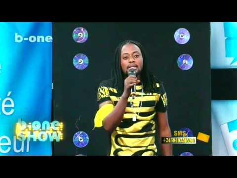 b-one show avec Gibson, comedies dauphin mbulamatadi