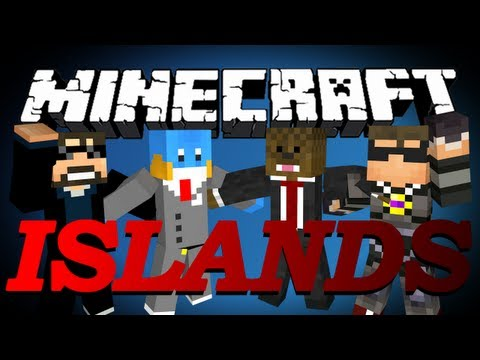 HILARIOUS FAIL Minecraft The Islands PVP w SkyDoesMinecraft HuskyMudkipz and Ssundee