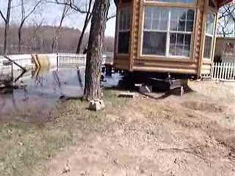 River Bay Campground Flood in Wisconsin Dells