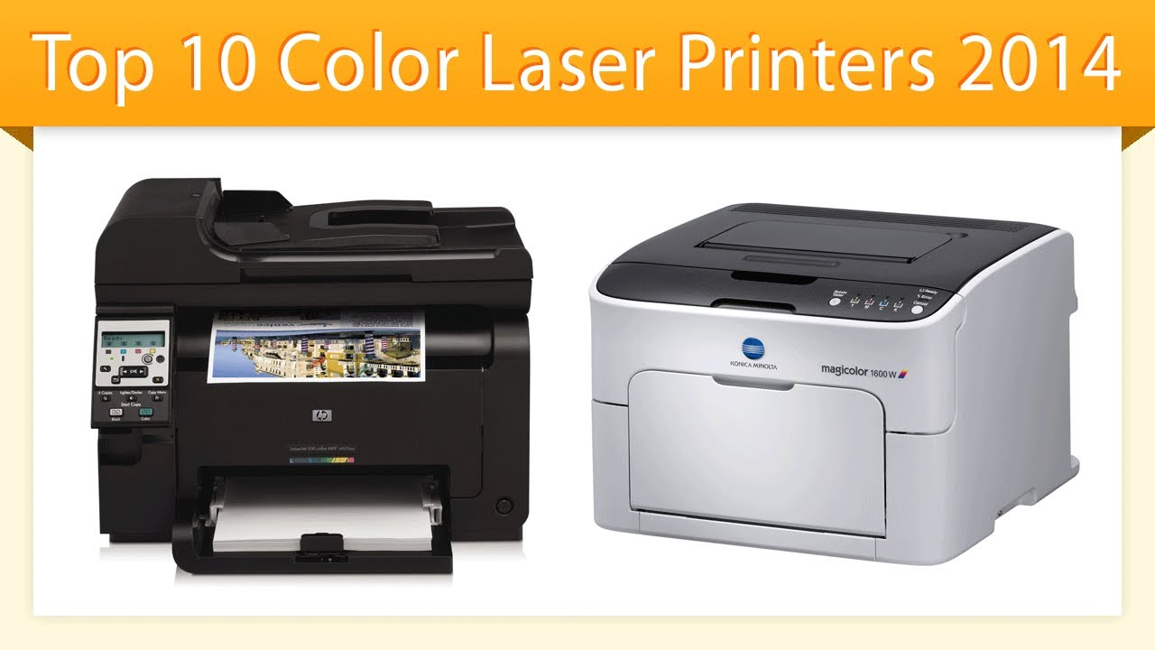 Top 10 color laser printers 2014 best laser printer review youtube