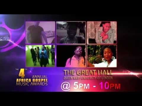 Africa Gospel Music Awards 2013   The Official Promo video