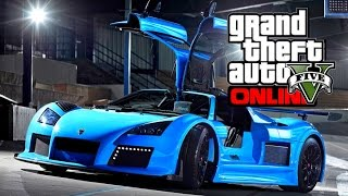"GTA 5 ""Excot Revenue F"" DLC Car Idea - After Patch 1.25 1.26, 1.27 (GTA 5 Gameplay) Ep 2"