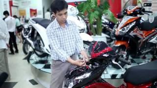 Iky bike - Hướng dẫn lắp đặt khóa từ chống trộm xe máy loại 4 DÂY