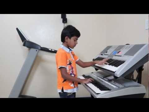 Kaho Na Pyar Hai on Keyboard by Vishwaraj Vinayakumar (INSTRUMENTAL...