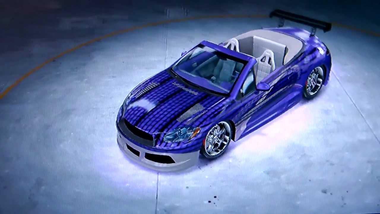 Midnight Club Los Angeles - Bonus Car Mitsubishi Eclipse ...