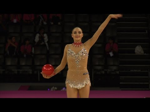 WC Montpellier 2011 - Evgenia KANAEVA (RUS), Qualifications Ball