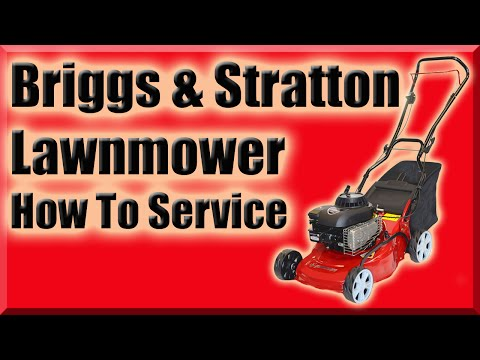 Briggs And Stratton Powered Lawnmower Not Working How To Service