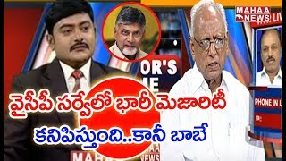 Chandrababu Full Confident On His Victory In AP Elections |#IVR Analysis | MAHAA NEWS