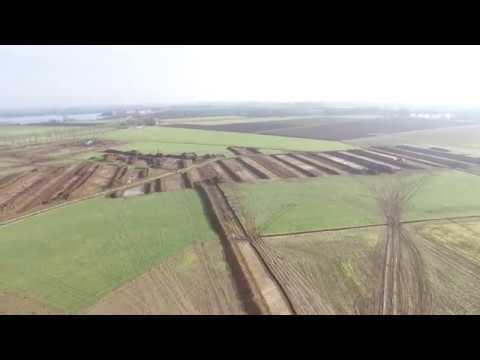Dronebeelden 1 opgraving Tiel maart 2017: ADC gemeente Tiel