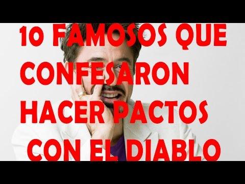10 FAMOSOS QUE CONFESARON HACER PACTOS CON EL DIABLO/ TOP 10