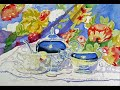 How to paint silver reflections in Watercolor Painting Steps in Art