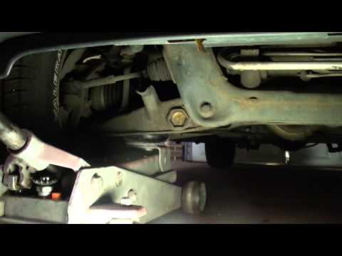 How to check ball joints With control arm loaded suspension