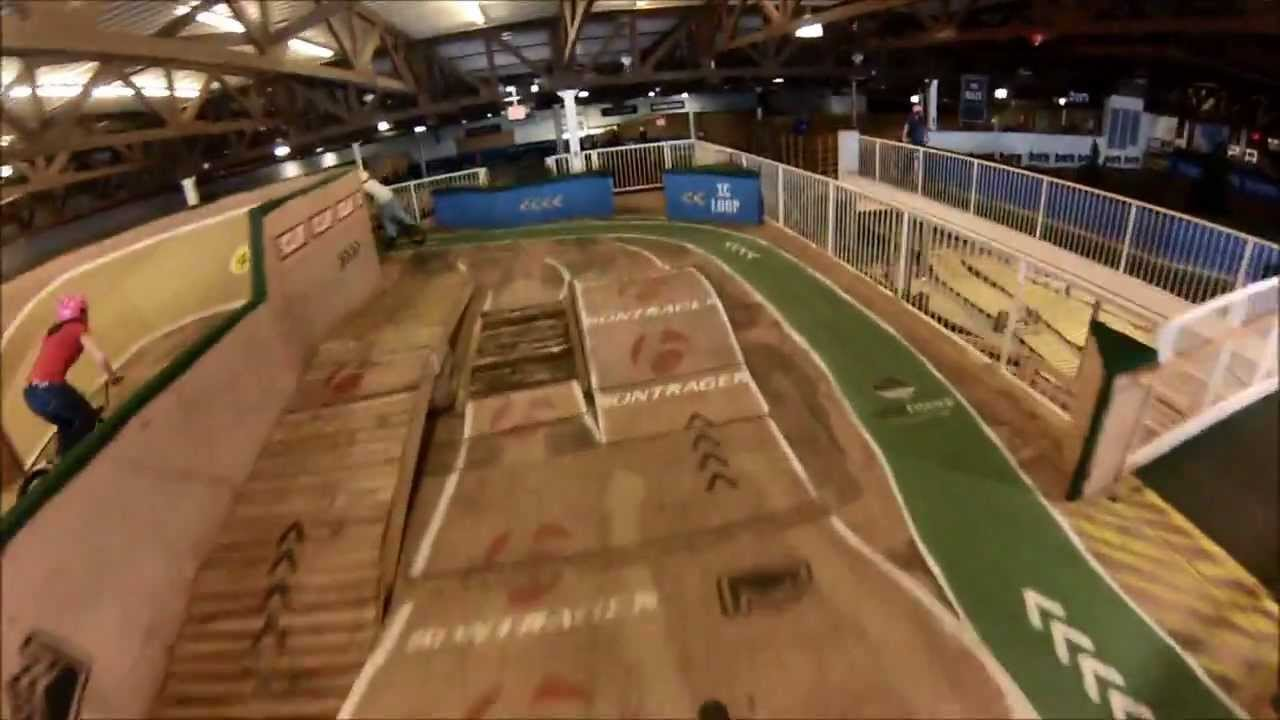 Rays Indoor Mountain Bike Park - Milwaukee, WI - YouTube