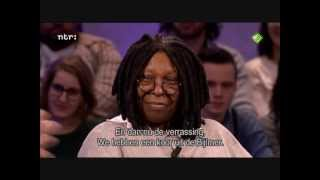 Whoopi Goldberg - live improvisation of Oh Happy Day 2013
