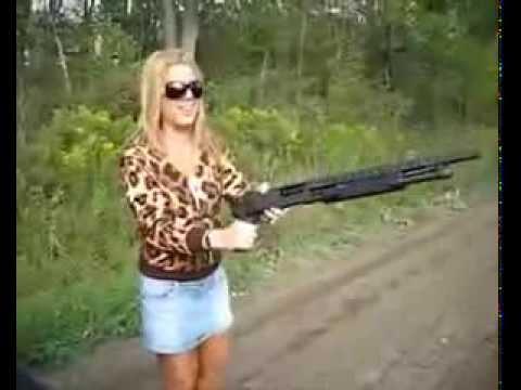 Warum Frauen keine Waffen benutzen sollten