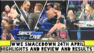 WWE Smackdown 24th April Highlights And Review And Results/World Wrestling Tamil