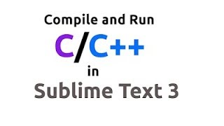 Compile and Run C program using Sublime Text