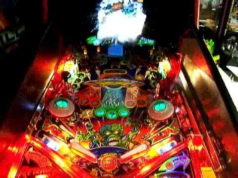 Bally Revenge From Mars Pinball Machine Attack Mars Game