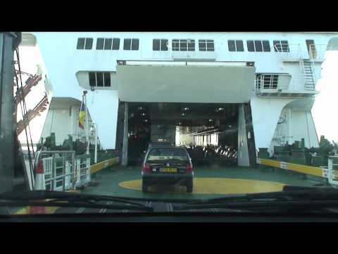 Onboard P&O Ferries 