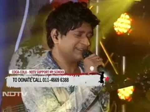 Kk Singing tu Aashiqui Hai  For Ndtv Support My School Telethon video