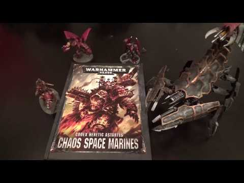 Codex: Chaos Space Marines REVIEW!