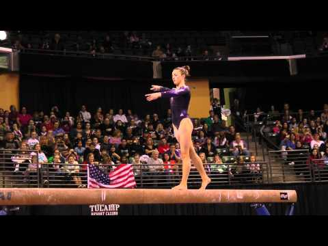 Lexie Priessman - Balance Beam Finals - 2012 Kellogg&#039;s Pacific Rim Championships