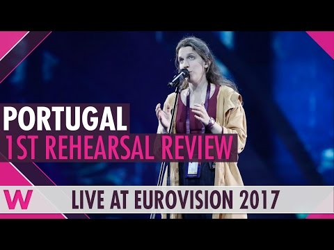 Portugal first rehearsal: Salvador Sobral's sister Luísa Amar Pelos Dois @ Eurovision 2017 review