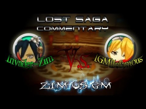 Lost Saga Commentary GM vs Zim