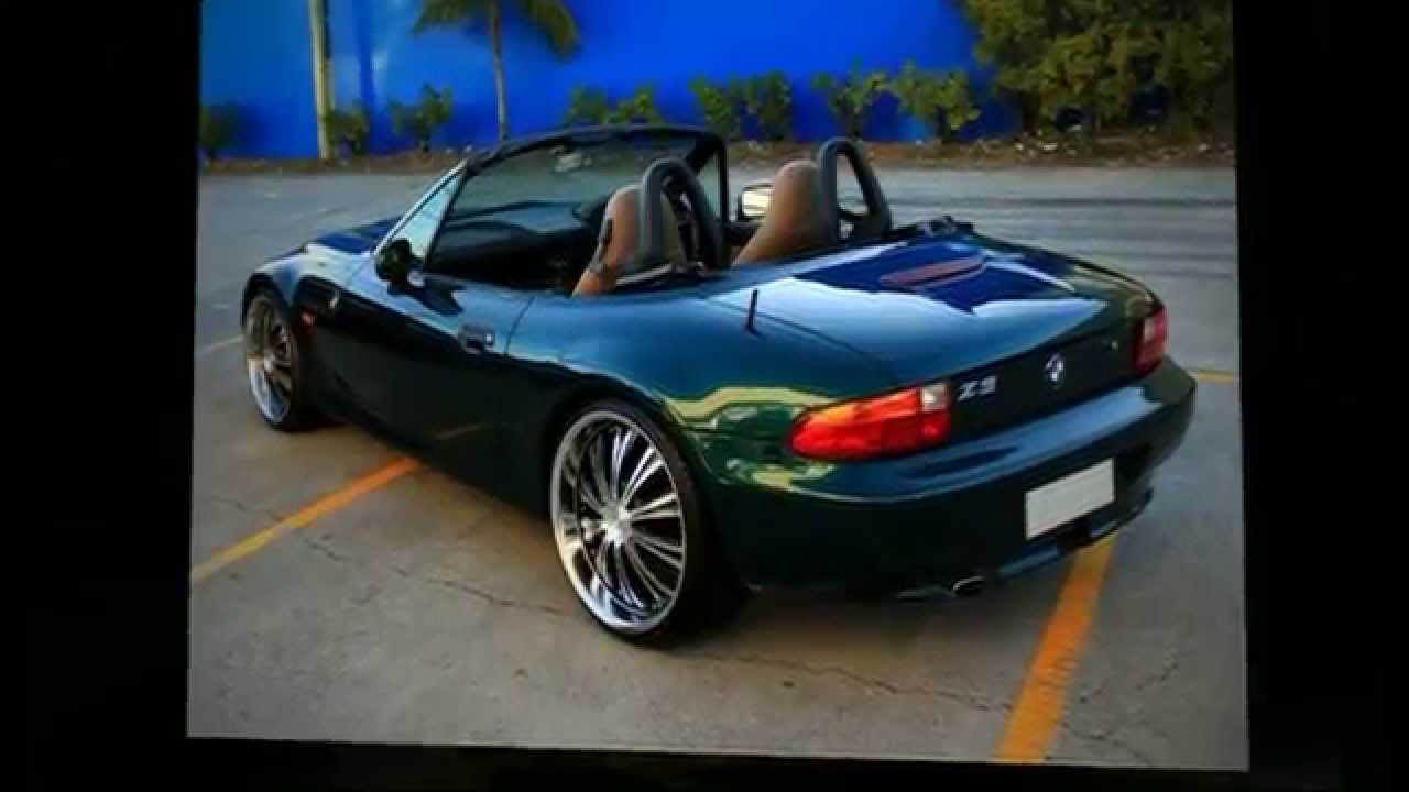 Bmw Z3 Roadster Rolling 20 Quot Custom Rims Drill Pure Ace Wheels Youtube
