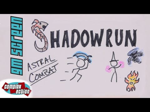 Astral Combat - GM Screen - Shadowrun 5th Edition