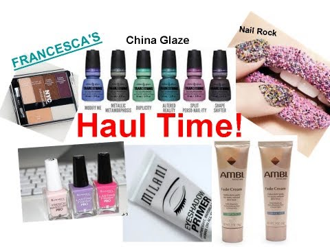 HAUL   Makeup. Nail Polish & Jewelry - 170
