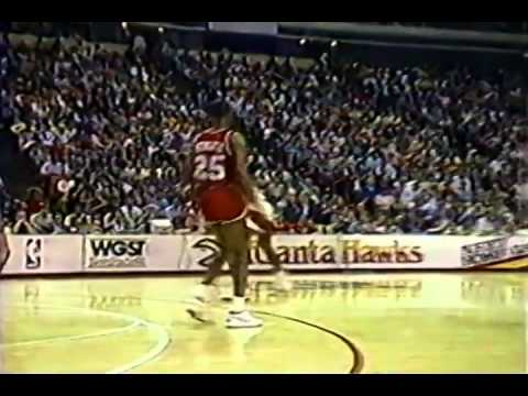 February 23, 1987 Sixers@Hawks (Dominique Wilkins 42 points and dunk festival)