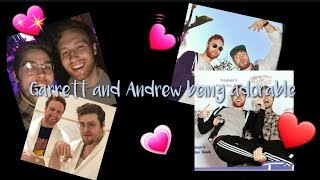 Garrett Watts and Andrew Siwicki being a couple for 4 minutes gay