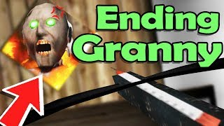 ELIMINATING GRANNY! The SECRET to ENDING Her! - Granny NEW Update (1.4 Gameplay Funny Moments)