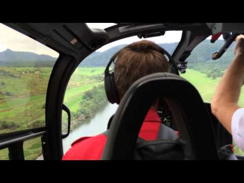 #EC130 departing Daintree over the river - Nautilus Aviation