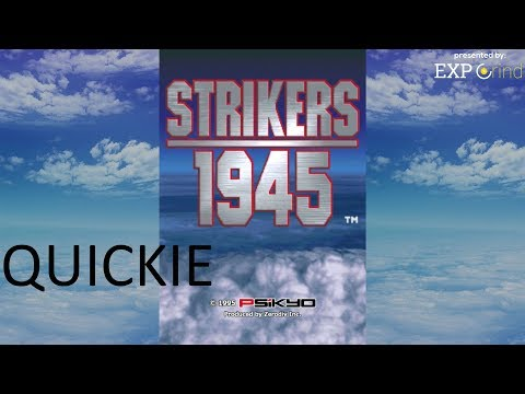 Strikers 1945 for Nintendo Switch GAMEPLAY Quickie - Nintendo Switch SHMUPS - No Commentary