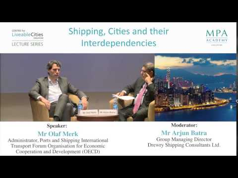 Challenges for Singapore as a port city and maritime centre
