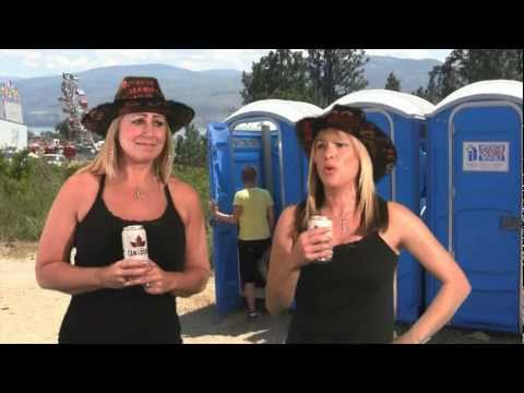 Keith Urban's Porta-Potties - Lola and Liza 56