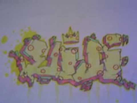 Graffitis en papel -Eiji-3