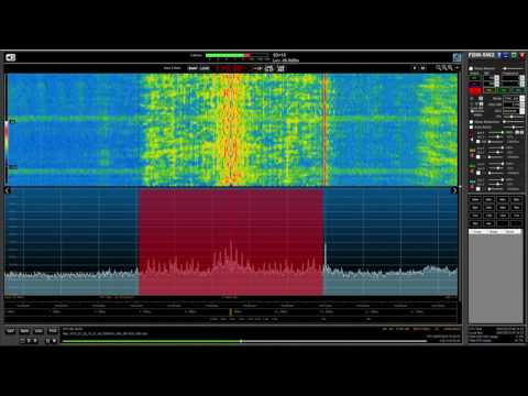 All India Radio 9445 kHz, 10 kHz audio BW of beautiful music, received in Oxford