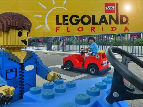 Legoland Florida - Spring Break 2014 (LEGO World of Chima, LEGO Star Wars, Miniland USA)