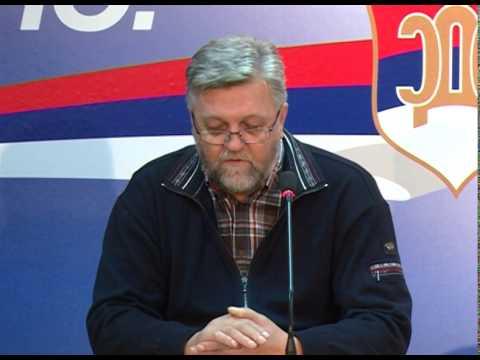 Dragan Cuzulan-konferencija za novinare